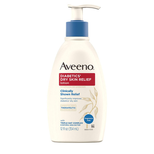 Aveeno Diabetics' Dry Skin Relief, 12 oz