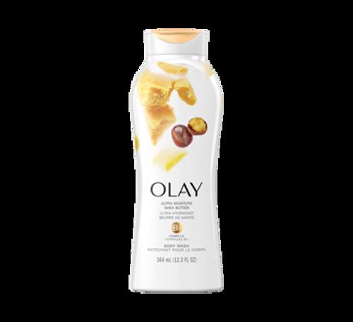 Olay Ultra Moisture Shea Butter Body Wash, 12.3 oz