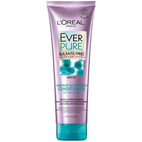 L'Oreal Paris Hair Expertise EverPure Sulfate-Free Repair & Defend Conditioner, 8.5 oz