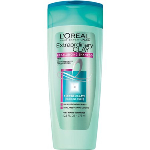 L'Oreal Paris Elvive Extradinary Clay Rebalancing Shampoo, 12.6 oz