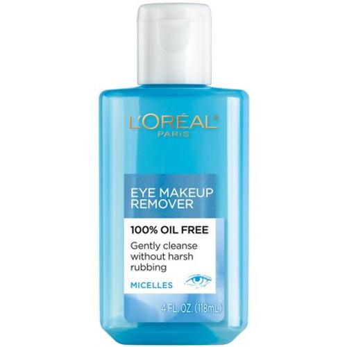 L'Oreal Paris Dermo Expertise Eye Makeup Remover, Oil-Free, 4 oz