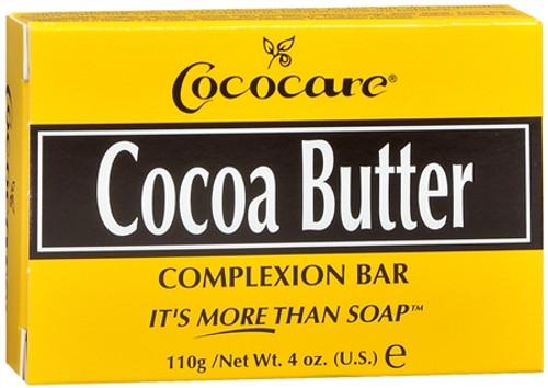 Cococare Cocoa Butter Complexion Soap Bar, 4 oz, 3 PACKS