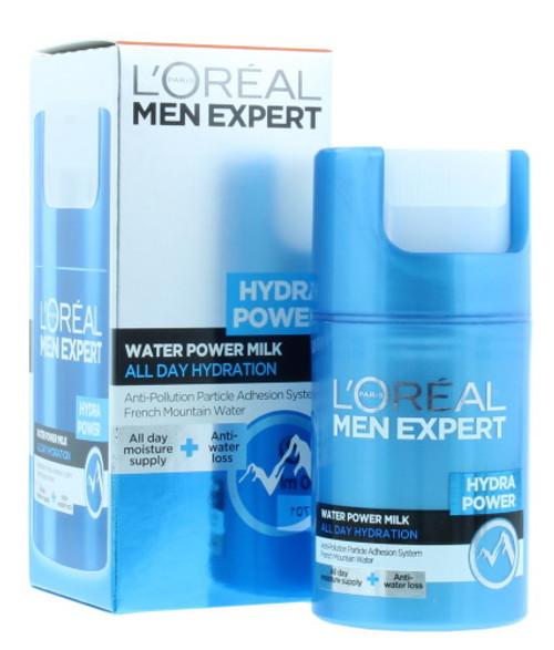 L'Oreal Men Expert Hydra Power Water Power Milk, 50 ml (1.7 Oz)