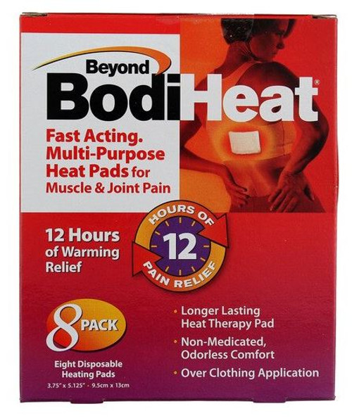 Beyond BodiHeat Pain Relief Heat Pads, 8 CT