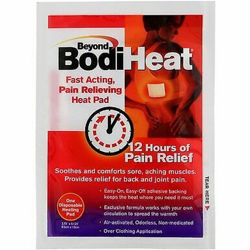 Beyond BodiHeat Pain Relieving Pads, 1 CT