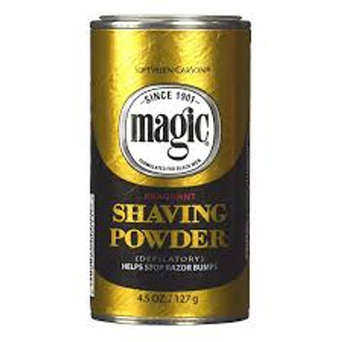 Magic Shave Fragrant Shaving Powder, 4.5 OZ