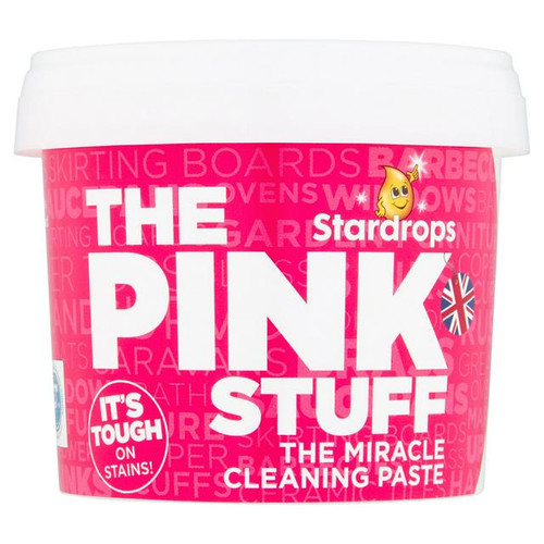 The Pink Stuff Miracle Cleaning Paste, 500 G (17.63 OZ)