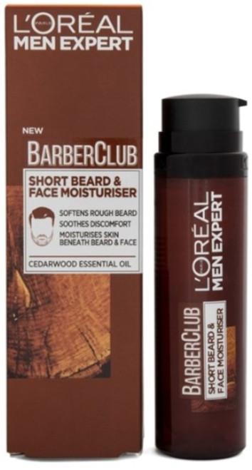 L'Oreal Men Expert Barber Club, Short Beard & Face Moisturizer, 50 ml (1.7 OZ)
