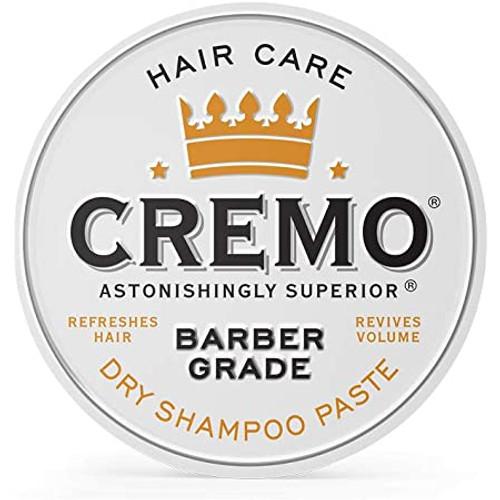 Cremo Barber Grade Dry Shampoo Paste, 4 OZ