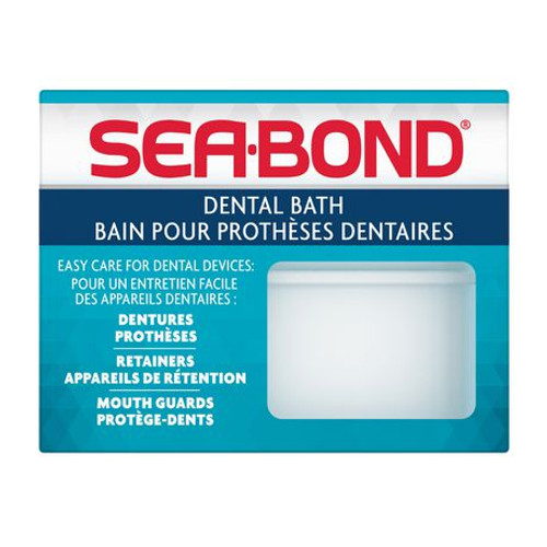 Sea-Bond Dental Bath, Colors May Vary