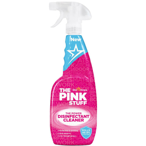 The Pink Stuff The Power Disinfectant Cleaner, 750 ml (25.4 OZ)