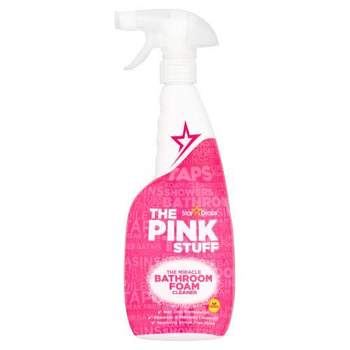 The Pink Stuff The Miracle Bathroom Foam Cleaner, 750 ml (25.4 OZ)