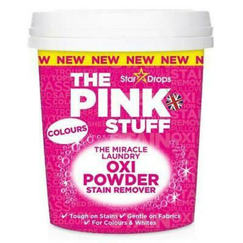 The Pink Stuff The Miracle Laundry Oxi Powder Stain Remover for Colors, 1 kg (35.2 OZ)