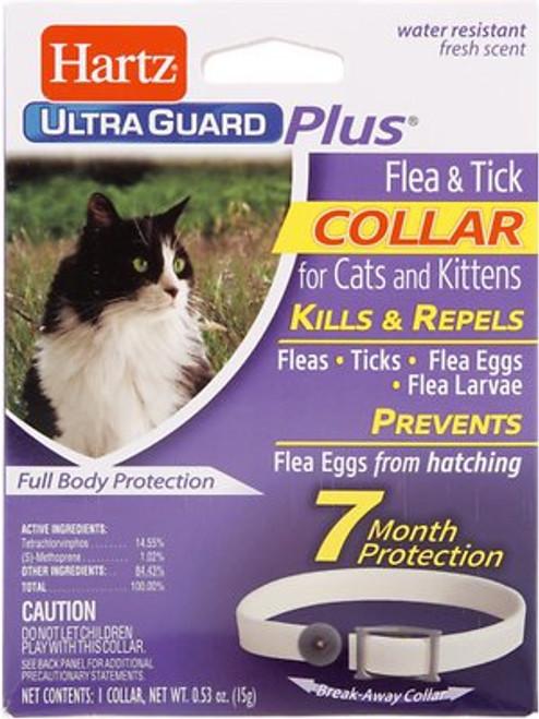 Hartz Ultraguard Plus Flea & Tick Collar for Cats & Kittens