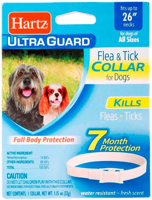 Hartz Ultraguard Flea & Tick Collar for Dogs