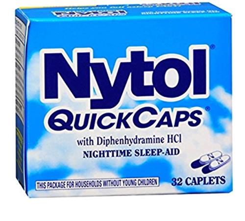 Nytol Quick Caps Nighttime Sleep Aid, 32 CT