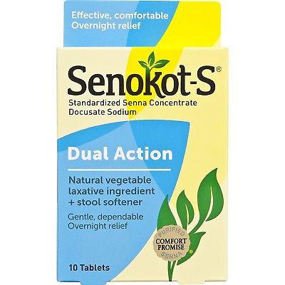 Senokot S Dual Action Natural Vegetable Laxative Plus