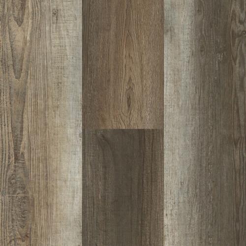 "Master Design Premier Rigid Core Cedar Key Oak 9"" x 60"" Waterproof Vinyl Plank with Attached Pad"