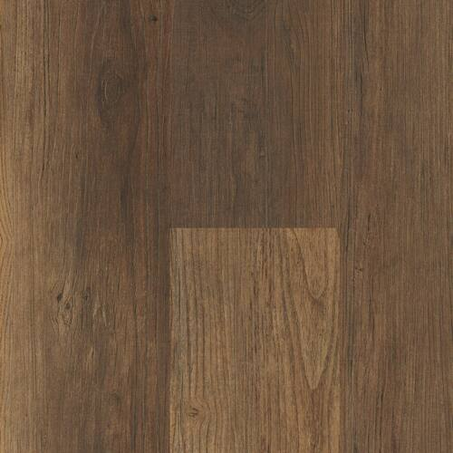 """Master Design Premier Rigid Core Key Largo Hickory 9"""" x 60"""" Waterproof Vinyl Plank with Attached Pad"""