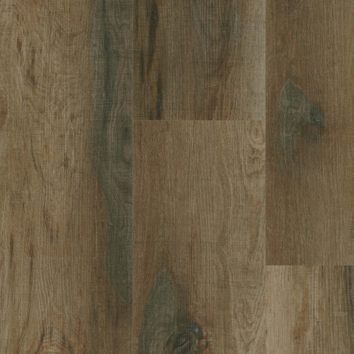 "Master Design Premier Rigid Core Gulf Harbor Oak 9"" x 60"" Waterproof Vinyl Plank with Attached Pad"