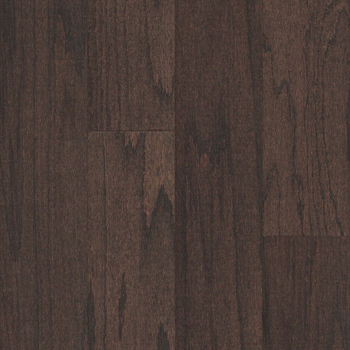 """Lot Purchase - Mullican Great Lake Oak Espresso 5"""" Wide 3/8"""" Thick Click Together Engineered Hardwood Flooring 2882"""