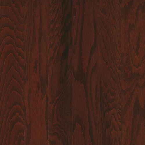 "Mannington Builder's Pride Hardwood Mocha Red Oak 3"" Wide 3/8"" Thick Engineered Hardwood"