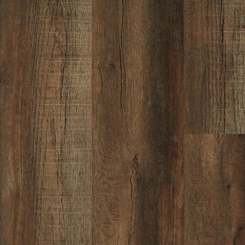 """Touchdown Bark 9"""" x 60""""  Waterproof SPC Luxury Vinyl Plank with Attached Pad 921"""