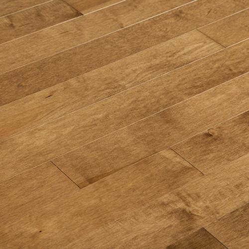 "Viking Maple Honey 4"" Wide 3/4"" Thick Solid Hardwood Flooring M-VHON4"