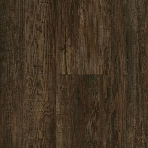 """Master Design Home Living Collection Shenandoah Distressed Oak Rigid Core  9"""" x 60"""" Waterproof Vinyl Plank with Attached Pad FS059"""