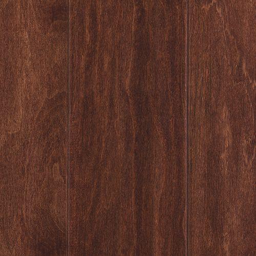 "Mannington Sherwood Red Oak Chocolate 5"" Wide 3/8"" Thick Engineered Hardwood Flooring SH5CE"