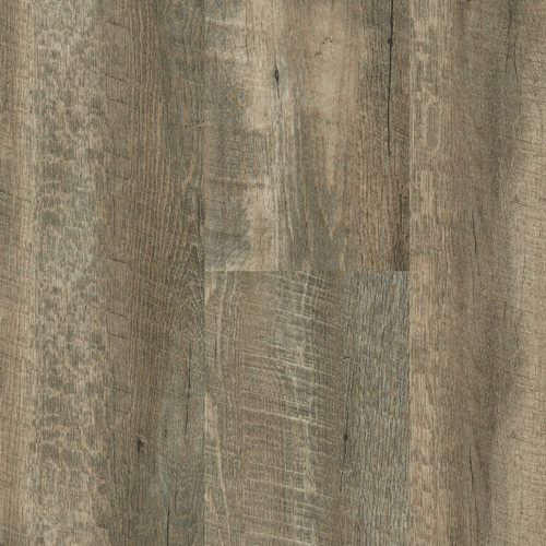 """Master Design Home Living Collection Winger Oak Rigid Core  9"""" x 60"""" Waterproof Vinyl Plank with Attached Pad FS025"""