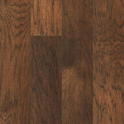 "Harris Vintage Hickory Abilene 4.75"" Wide 3/8"" Thick Click Together Engineered Hardwood Flooring 2701"