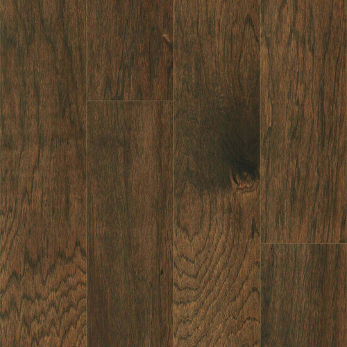 """Harris Hickory Cassidy 4.75"""" Wide 3/8"""" Thick Click Together Engineered Hardwood Flooring 2702"""
