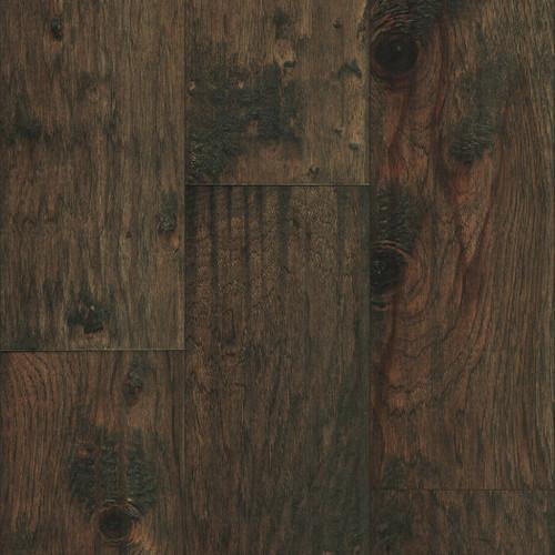 "Mullican Hadley Hickory Granite 7""  Sculpted Engineered Hardwood Flooring 22065"