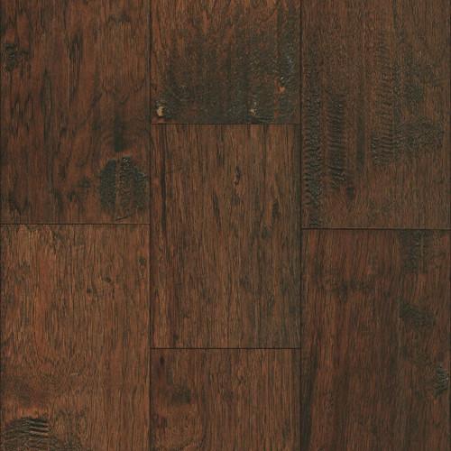 "Mullican Hadley Hickory Provincial 7""  Sculpted Engineered Hardwood Flooring 22067"