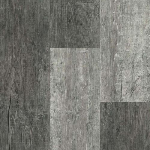 "Master Design Yukon Collection Distressed Alamo Hickory Rigid Core Waterproof Flooring 7"" x 48"" Waterproof Luxury Vinyl Plank Flooring FS14"