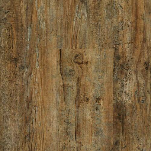 """Heirloom Collection Mohican 9"""" x 48"""" Waterproof SPC Luxury Vinyl Rigid Plank Flooring with Attached Pad 40107"""