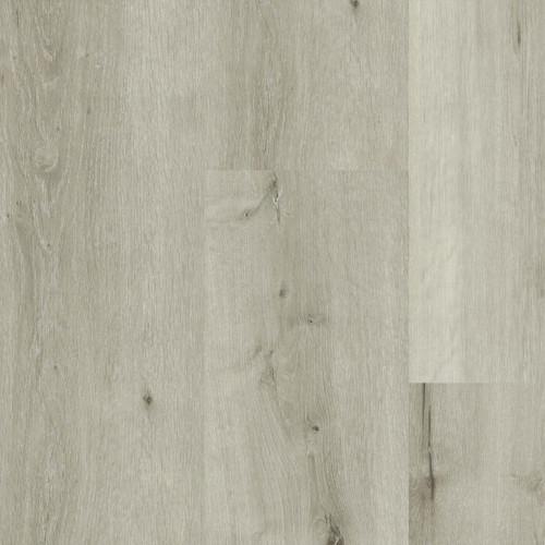 "Heirloom Collection Eskimo 9"" x 48"" Waterproof SPC Luxury Vinyl Rigid Plank Flooring with Attached Pad 40101"
