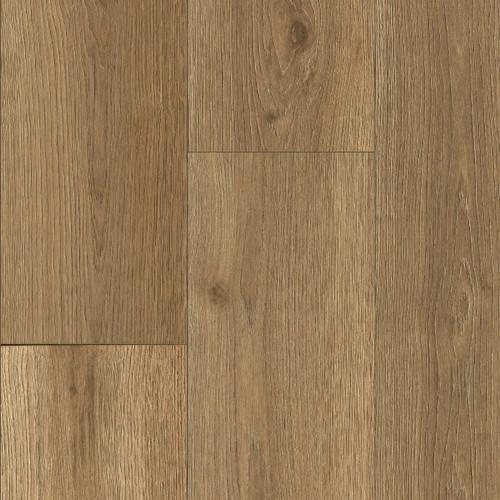 "COREtec Advanced+ Savoy Oak 9"" x 86"" Waterproof Engineered Vinyl Plank Flooring with Attached Cork Underlayment 05017"