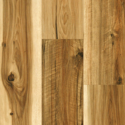 """Swiss Krono - Durango Natural Hickory -12mm - 7.48"""" x 50.67"""" Click Together Laminate with Free Pad 3614"""