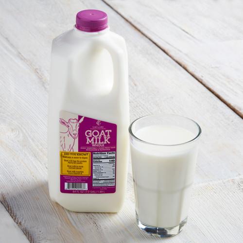 LaClare Goat Milk Whole - Half Gallon