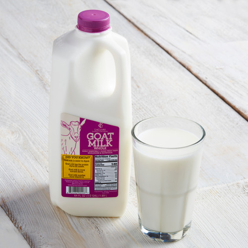 LaClare Goat Milk Whole - Half Gallon