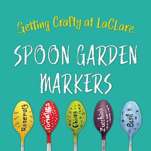 Getting Crafty - Spoon Garden Markers