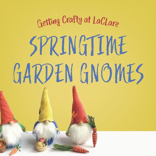 Getting Crafty - Springtime Garden Gnomes