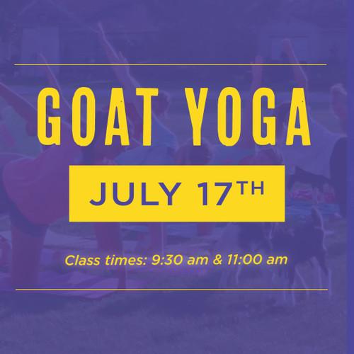 Goat Yoga | July 17th