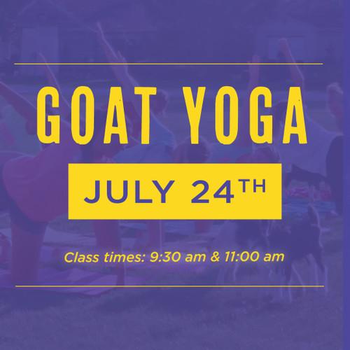 Goat Yoga | July 24th