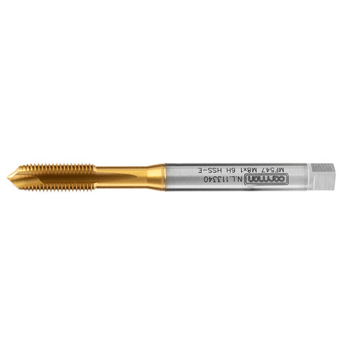 Spiral Point Fine Pitch Tap for Stainless - Carmon MF547 Quartz