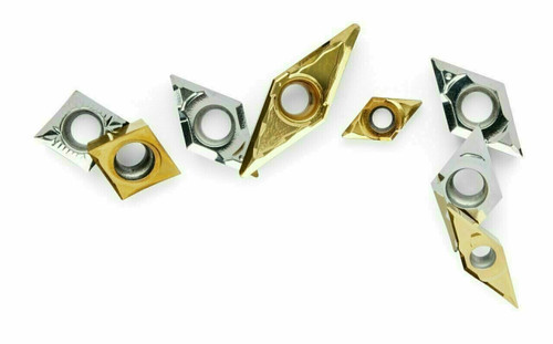 VCGT 16 Coated Carbide Turning Inserts - Omega