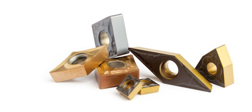 VCGT 11 Carbide Turning Inserts for Heat Resistant Alloys - Omega