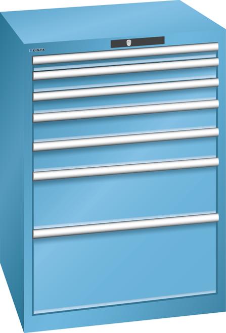 Drawer cabinet  (WxDxH) 717x725x1000mm 7 drawers (1x50*/2x75/2x100/1x200/1x300) *75/200kg